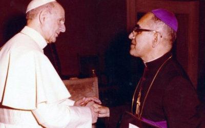Congratulação pelas canonizações de Paulo VI e Oscar Romero