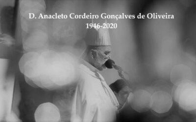 Nota da CEP pelo falecimento de D. Anacleto Oliveira